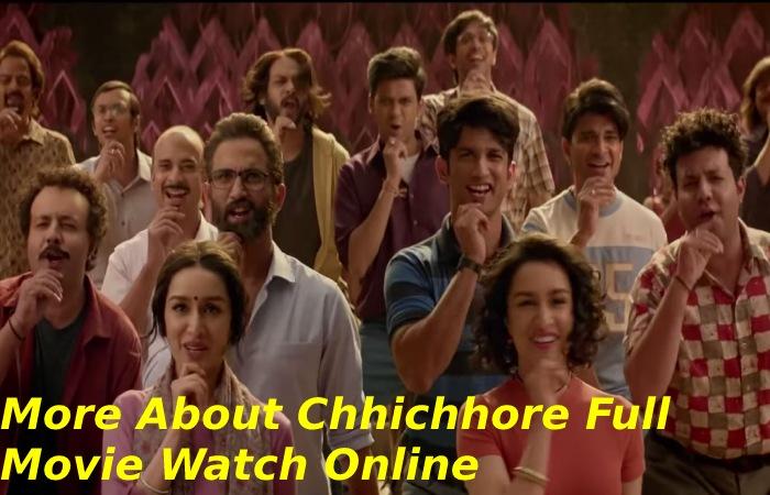 Chhichhore Full Movie Watch Online