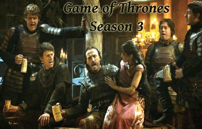 Game of thrones season 3 Episodes 7