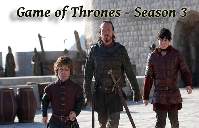 Game of thrones season 3 Episodes